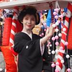 恵美須神社 宝恵かご 1月