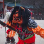平安神宮 節分祭 鬼の舞