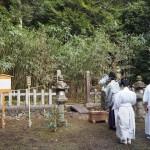 篠田神社 筍祭