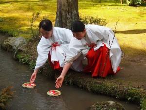上賀茂神社 流しびな