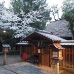 神明神社(宇治) 4月