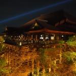 清水寺 ライトアップ 4月