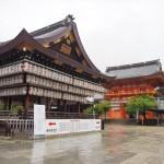 雨の八坂神社