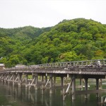 渡月橋と嵐山