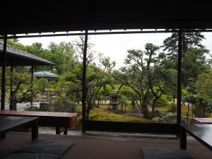 二条城 和楽庵のカフェ「茶房前田」