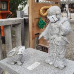 八坂神社 大国様と因幡の白ウサギ