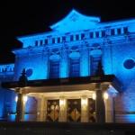 京都市京セラ美術館 ブルーライトアップ