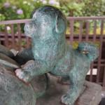 善峯寺 桂昌院像の子犬