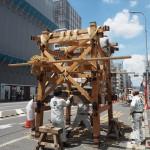 祇園祭 前祭・鉾建て 7月