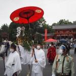 祇園祭 17日の御神霊渡御祭 7月