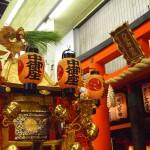 祇園祭 中御座と三条御供社