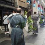 祇園祭 24日の榊巡行 7月