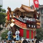 祇園祭 後祭の山鉾巡行 大船鉾