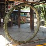 御香宮神社 茅の輪 7月