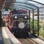 嵯峨野トロッコ列車 8月