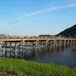 渡月橋 8月
