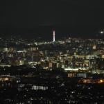 小倉山からの夜景 8月