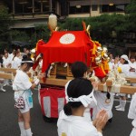 松尾大社 八朔祭 女神輿