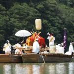 松尾大社 女神輿の船渡御 9月