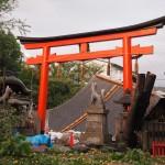 大将軍神社 台風21号 9月