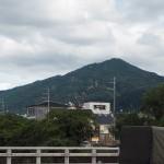 高野橋からの比叡山