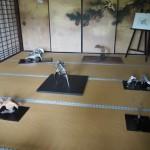 仁和寺 御殿の展示
