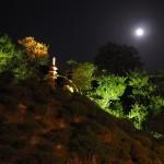 智積院 中秋の名月