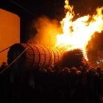三栖神社 炬火祭 10月