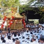 粟田祭 青蓮院への神輿入り