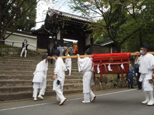 粟田祭 御神霊渡御祭