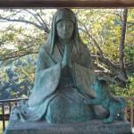 善峯寺 桂昌院の像