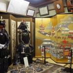 亀岡祭 屏風と甲冑