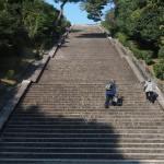 明治天皇陵 階段