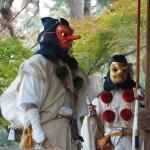 愛宕念仏寺 天狗の宴 11月