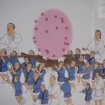 高松神明神社 壁画 11月