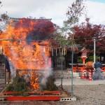 車折神社 火焚祭 11月