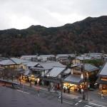 嵐山駅屋上から 12月
