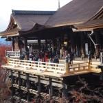 清水寺 舞台の修復完了 12月