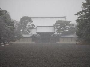 京都御所 12月31日