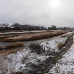 雪の鴨川 12月31日