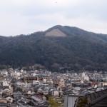 大文字山と京都の街並み